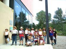 Alumnes de l'escola de Torrelavit